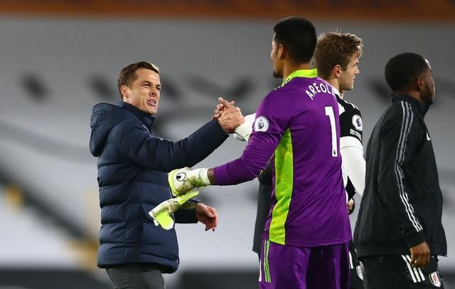 Scott Parker saw his Fulham side win their first Premier League game of the season on Monday night.