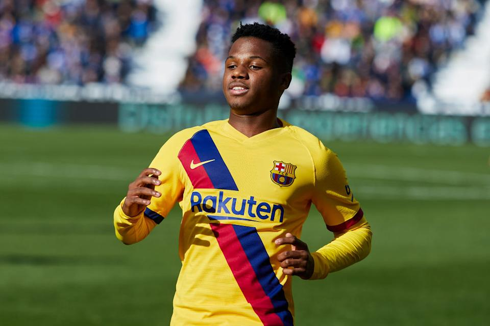 <strong>6 - Ansu Fati</strong> (17 ans), Espagne/FC Barcelone.