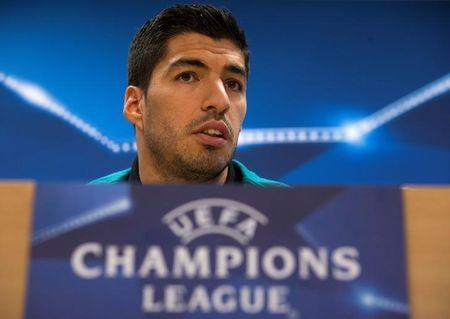 Football Soccer - Barcelona news conference - UEFA Champions League