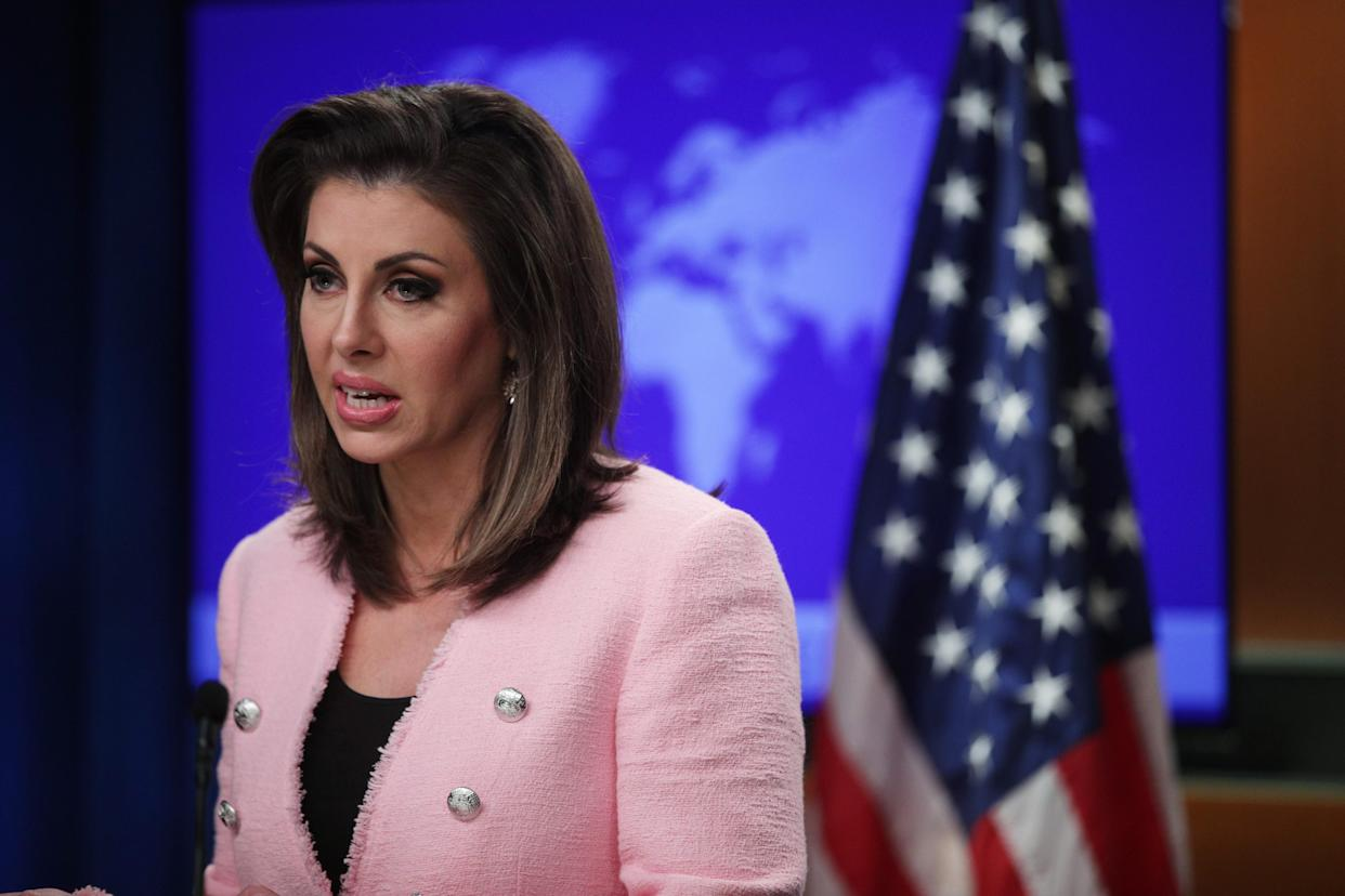 State Department spokesperson Morgan Ortagus. (Photo: Alex Wong/Getty Images)