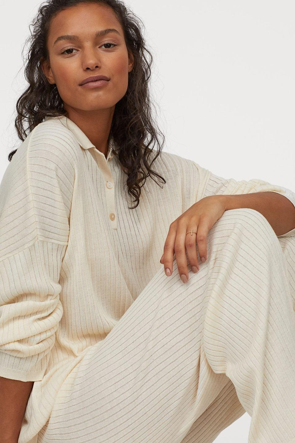 <p>This <span>Rib-knit Pants</span> ($30) are a classic staple.</p>