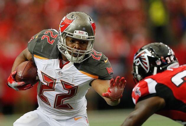 Doug Martin is no sure thing against New Orleans. (Getty)