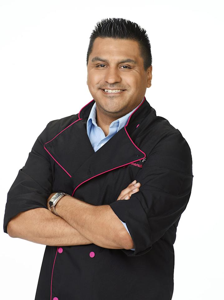 "Carlos Enriquez competes in season 2 of ""Top Chef Just Desserts."""