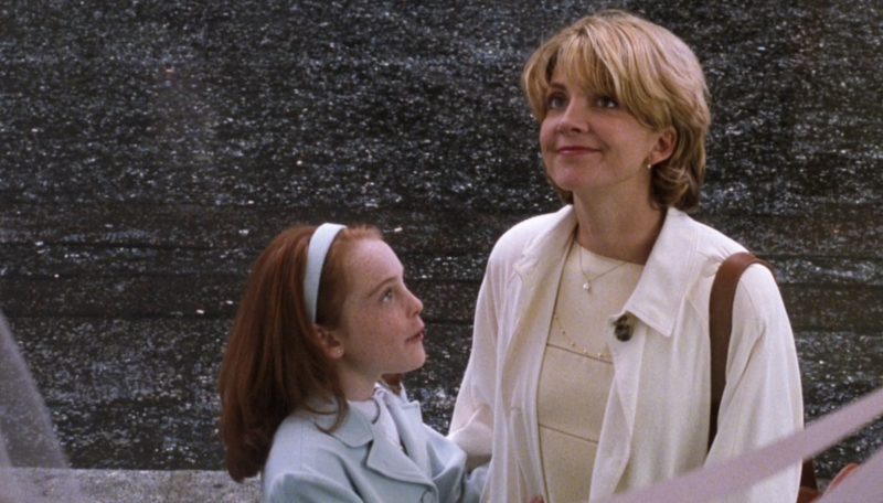 Lindsay Lohan and Natasha Richardson in The Parent Trap. (Disney)