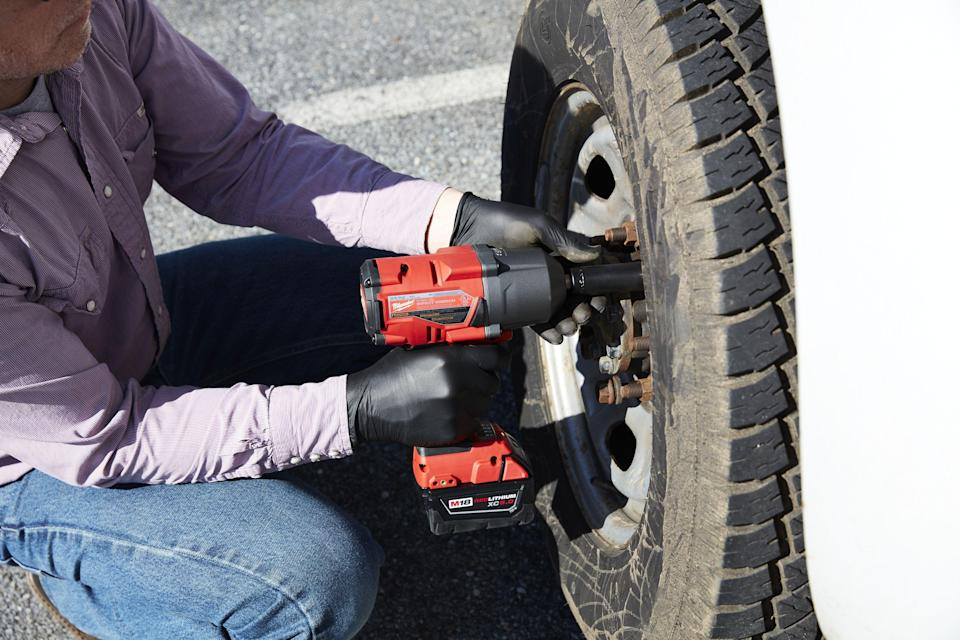 """<p>Historically, impact wrenches were predominantly pneumatic, or air powered, which left them squarely in the domain of professional mechanics. To run a typical ½-inch pneumatic impact wrench, you usually need an air compressor putting out close to 100 PSI—a significant investment. <br> <br>The good news is that cordless, battery-powered impact wrenches have gotten better as battery technology improves, which has brought prices down and made them viable alternatives to their pneumatic cousins. In fact, cordless impact wrenches have a tremendous advantage: mobility. Not being tied to a compressor with an air hose, these tools can easily go wherever they're needed.<br><br>We called in a range of impact wrenches—from a heavy-duty, high-torque model down to a compact, medium-duty model—and subjected them all to the same challenges to identify their strengths and weaknesses. Read on for some buying advice, followed by our findings and reviews of the best impact wrenches.<br></p><h3 class=""""body-h3"""">What You Need to Know About Impact Wrenches</h3><p><strong>How They Work</strong><br>Unlike cordless drill/drivers and impact drivers, which excel at drilling holes and driving screws, the impact wrench is specially designed for tightening and loosening various hex-head bolts, nuts, and lag screws. It employs both rotational force (torque) and short-burst concussive blows (impacts) to deliver an unparalleled amount of power. For example, most cordless drill/drivers produce about 50 foot-pounds of torque, and the average impact driver delivers about 125 foot-pounds. By comparison, cordless impact wrenches can easily produce torque outputs of over 250 foot-pounds, which is more than enough muscle to power-drive the fattest lags and bust loose rusty, corroded nuts. <br><br>However, all that brute strength isn't very useful if you can't control the tool. Fortunately, impact wrenches are extremely comfortable to use because the concussive blows smoothly transfer most of that high-e"""