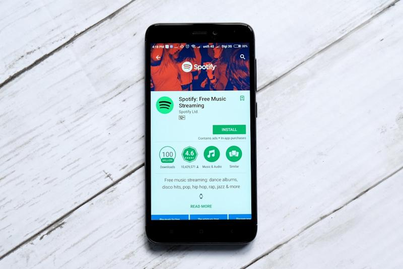 Spotify Files For 1 Billion Ipo