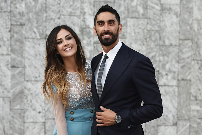 Giorgia Palmas e Filippo Magnini (Photo by Stefania D'Alessandro/Getty Images)