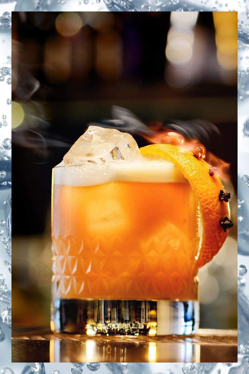 """<p>Perhaps the most refreshing whiskey cocktail, this is an old reliable favorite.</p><p>- 2 oz whiskey<br>- 1 oz lemon juice<br>- 1 tsp sugar<br>- 1 egg white (optional)</p><p><em>Combine ingredients in a cocktail shaker and shake (bartenders use this """"dry shake"""" to incorporate the egg white). Add ice and shake again. Strain over ice in a rocks glass.</em></p>"""