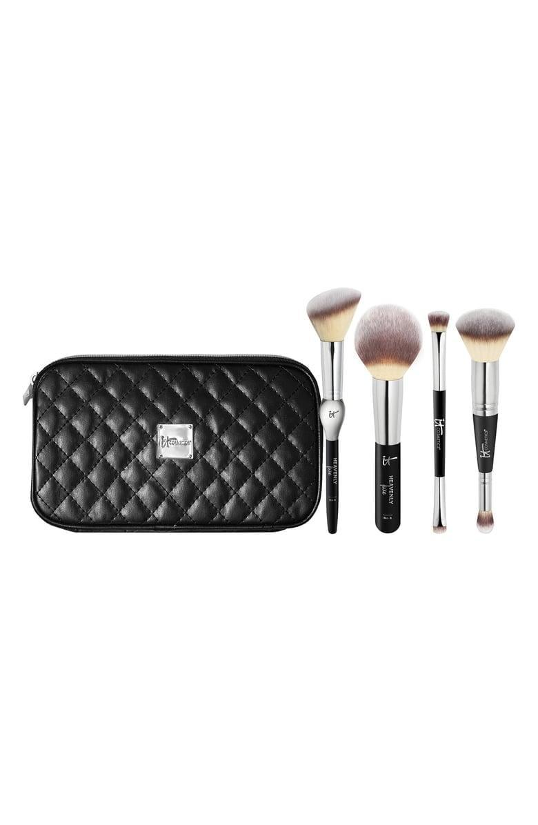 <p>Quality makeup brushes, like the <span>IT Cosmetics Celebrate Your Heavenly Luxe Face Brush Set</span> ($49, originally $69), always make for a great gift. This set contains a blush, powder, eyeshadow, and multipurpose brush for 28 percent off.</p>