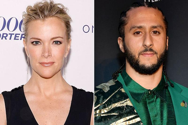 From left: Megyn Kelly and Colin Kaepernick | Taylor Hill/FilmMagic; Paras Griffin/Getty