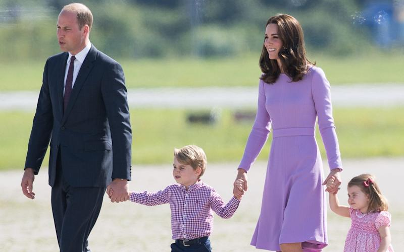 The Cambridge family on tour in Germany, 2017 - WireImage