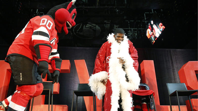 Acquiring Subban was one of the Devils' flashy off-season moves. (AP Photo/Kathy Willens)