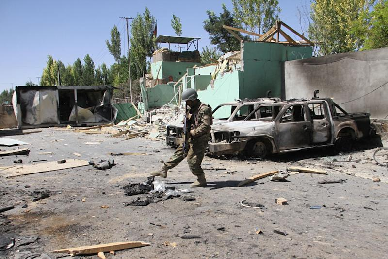 Taliban Bomb Blast in Kabul Police Compound Kills At Least 14, Wounds 145