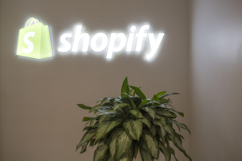 TORONTO, ON - NOVEMBER 4 - Shopify has become Canada's tech darling by defying conventional norms and reinventing ways of doing business. This is a profile of the company built on entrepreneurship. November 4, 2015. (Carlos Osorio/Toronto Star via Getty Images)