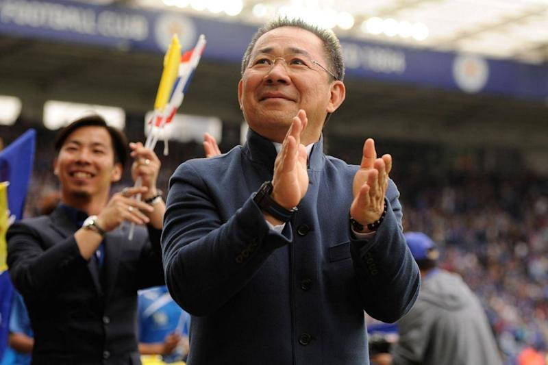 Vichai took over Leicester in 2010 (Rex)