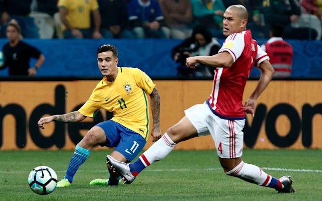<span>Coutinho is back from international duty with Brazil</span> <span>Credit: Getty images </span>