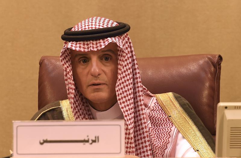 Saudi Arabian Foreign Minister Adel al-Jubeir, whose ministry in August announced by Twitter the expulsion of Canadian Ambassador Dennis Horak (AFP Photo/MOHAMED EL-SHAHED                   )