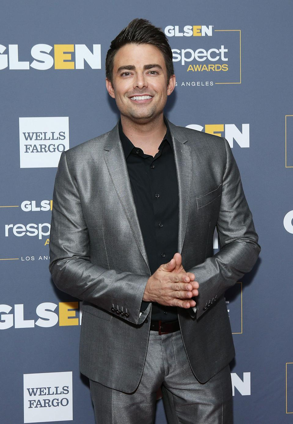 """Actor Jonathan Bennett stars in """"The Christmas House,"""" the first Hallmark Channel movie with a leading LGBTQ storyline."""