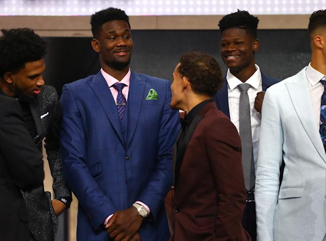 The 2018 NBA Draft at the Barclays Center on June 21, 2018. (Getty Images)