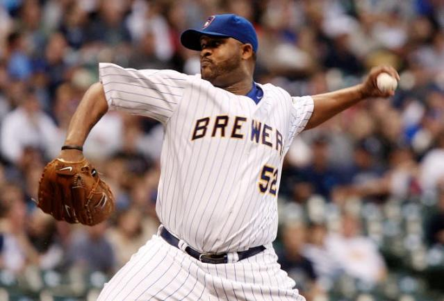 CC Sabathia was a big help for the Milwaukee Brewers in 2008. (AP)