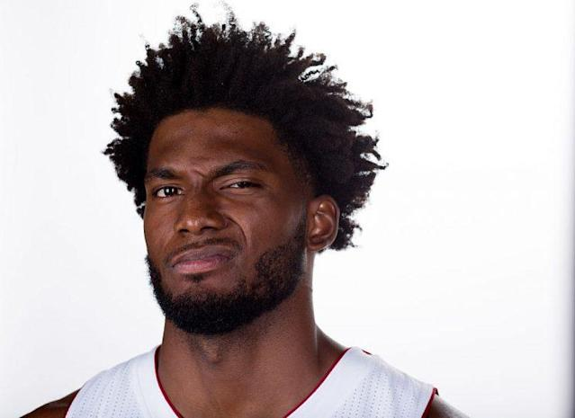 Justise Winslow smells what the Heat are cooking. (Getty Images)
