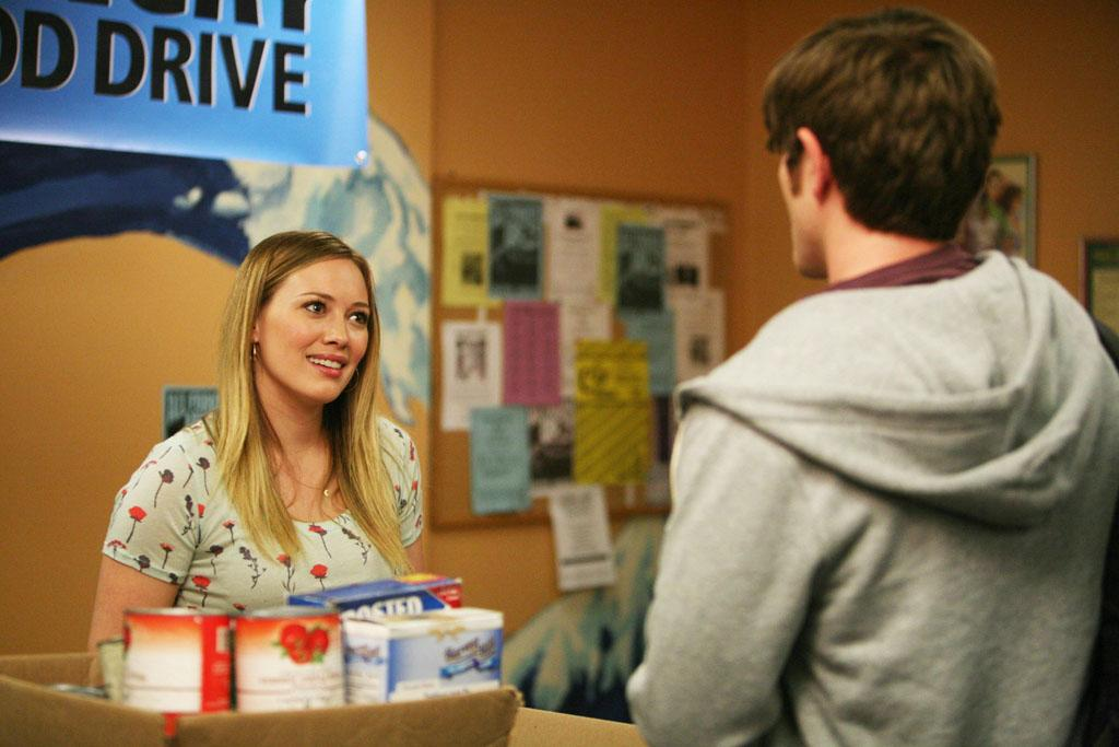 "Hilary Duff guest-stars as Jimmy's (Lucas Neff) ex-girlfriend in ""The Old Girl"" episode of ""Raising Hope."""