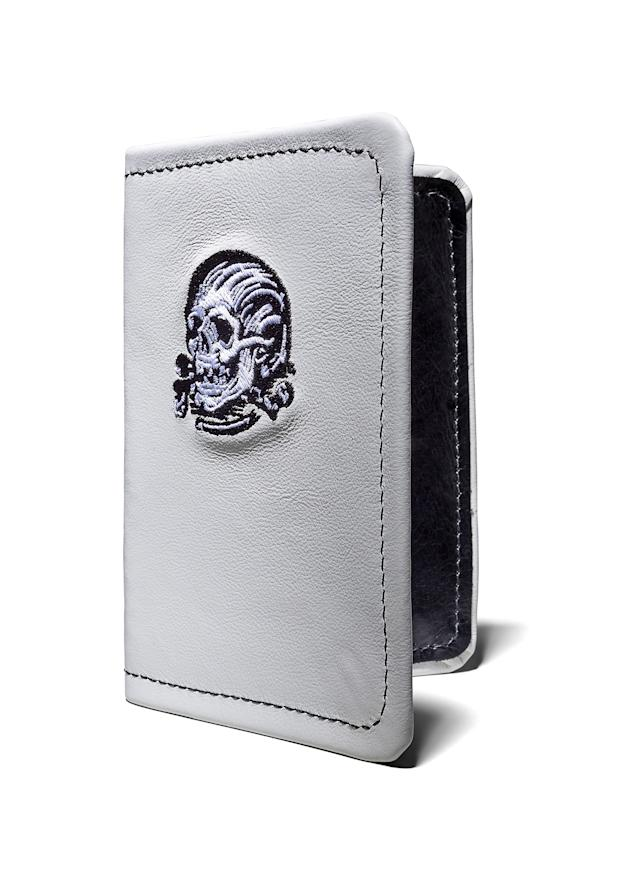 "<p>Ready to record the deadliest of scores, this white-leather scorecard holder can double as a passport protector. <a href=""https://www.seamusgolf.com/collections/scorecard-holder/products/seamus-x-denton-watts-skull-crossbones-field-book"" rel=""nofollow noopener"" target=""_blank"" data-ylk=""slk:Available at seamusgolf.com  BUY NOW: $95"" class=""link rapid-noclick-resp""><em>Available at seamusgolf.com</em><br> <strong>BUY NOW:</strong> $95</a></p> <p><strong>Related:</strong> <a href=""https://www.golfdigest.com/story/gifts-for-golfers-how-to-kickstart-your-holiday-shopping?mbid=synd_yahoo_rss"" rel=""nofollow noopener"" target=""_blank"" data-ylk=""slk:Gifts for Golfers: How to kickstart your holiday shopping"" class=""link rapid-noclick-resp"">Gifts for Golfers: How to kickstart your holiday shopping</a></p>"