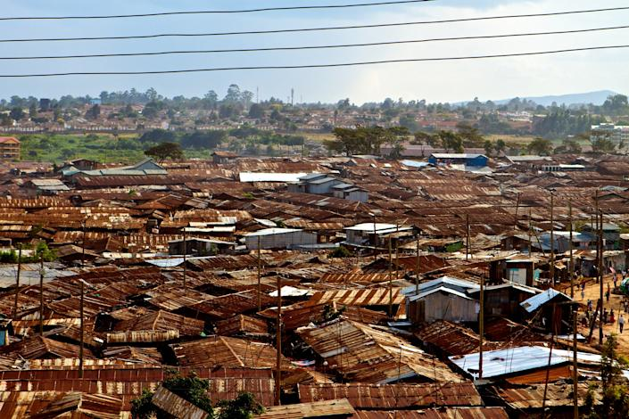 "<h1 class=""title"">Kibera</h1> <div class=""caption""> Kibara, in Nairobi, is one of the largest slums in the world. </div> <cite class=""credit"">Photo: Getty Images</cite>"