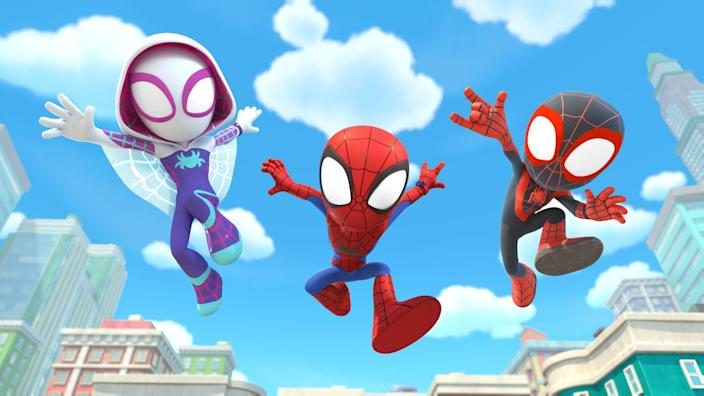 Photos From Marvel's Spidey and His Amazing Friends on Disney Junior