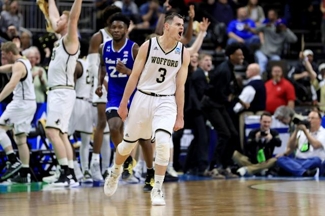 Fletcher Magee is officially the greatest shooter in college basketball history. (Getty)