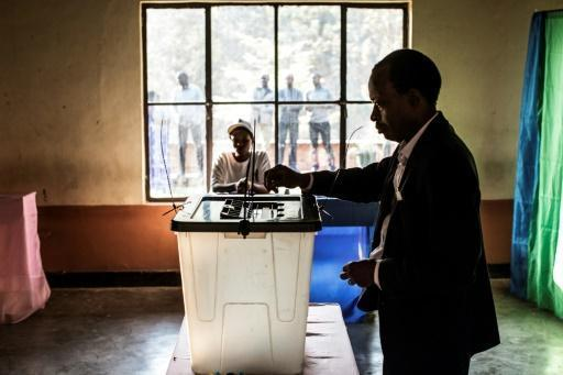 Kagame poised for third-term win in Rwanda election