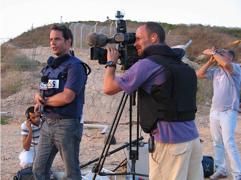 Bill Hemmer in Israel in 2006.