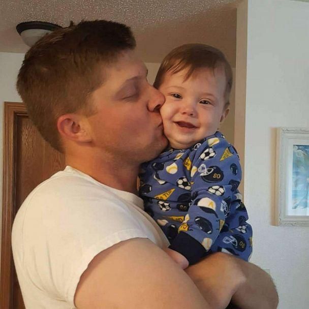 PHOTO: Anders Jungling is pictured in an undated photo with his father, Ryne Jungling. (Ryne Jungling)