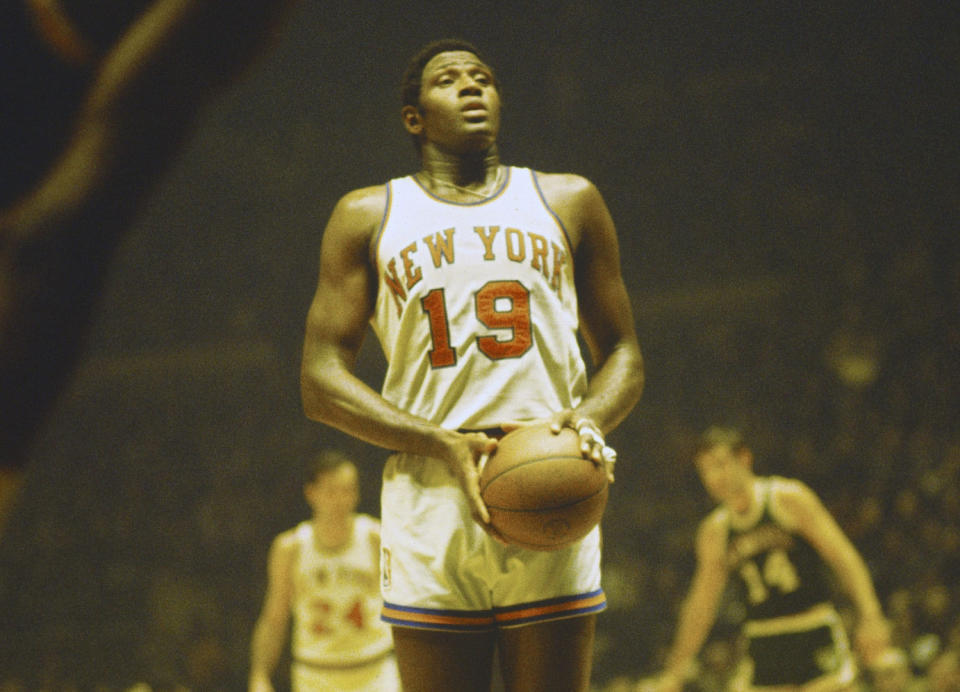 Willis Reed, New York Knicks