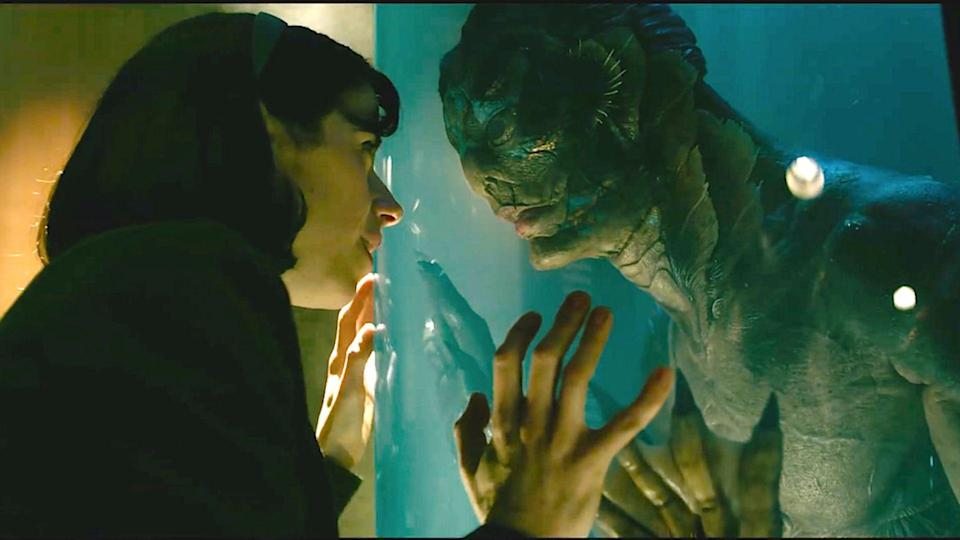 <p> Musical. Thriller. Melodrama. Love story. Creature feature. Only Guillermo Del Toro could have so effectively gelled such a seemingly unwieldy mash-up of tones and genres in his Oscar-winning passion project. Much magic was generated through the relationship between Sally Hawkins' mute cleaner and an amphibious humanoid creature (Doug Jones), but every character was treated with empathy and the film overruns with feeling. A masterclass in turning the unique into the universal. </p>