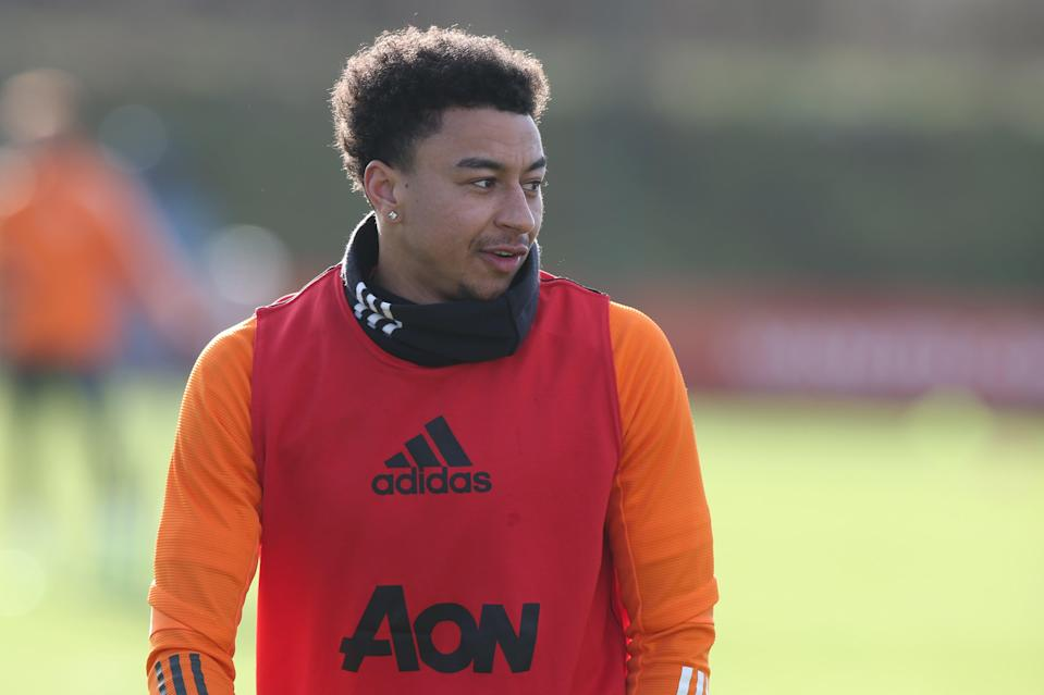 El extremo del Manchester United Jesse Lingard (Manchester United via Getty Images)