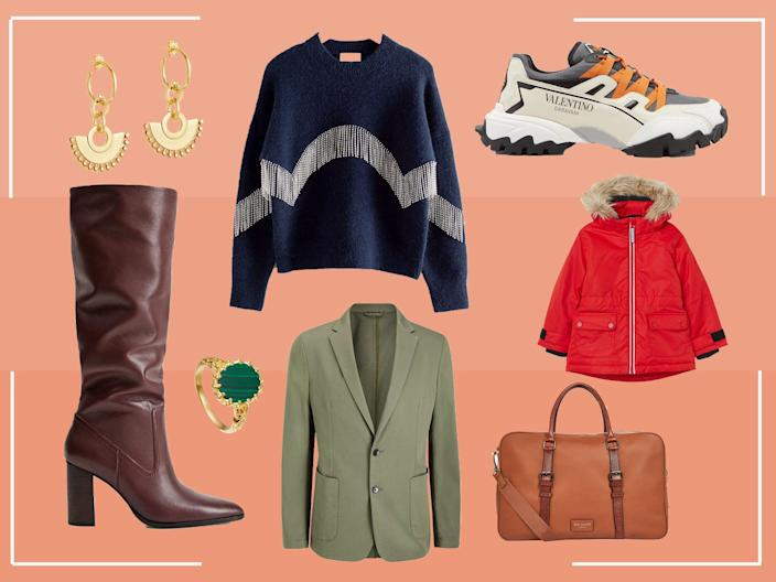 Update your wardrobe and get your Christmas shopping done in the sale (The Independent )