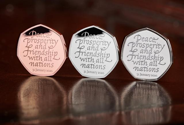 The collectable commemorative coins will go on sale on Friday. Photo: PA