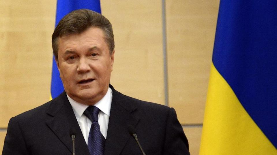 Viktor Yanukovych ruled Ukraine from 2010 until he was deposed in 2014 (AFP Photo/Alexander Nemenov)