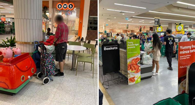 One shopper called out for abusing baby formula restriction at NSW Woolworths.
