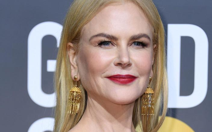The decision by Hong Kong, which maintains some of the strictest quarantine measures in the world, to grant Hollywood star Nicole Kidman a quarantine exemption as she films an Amazon-funded series about the lives of wealthy expats has sparked public anger - VALERIE MACON/AFP