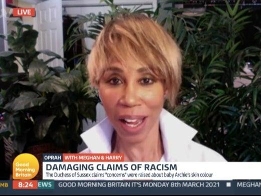 Trisha Goddard shut down Piers Morgan after racism question on 'Good Morning Britain'ITV Player