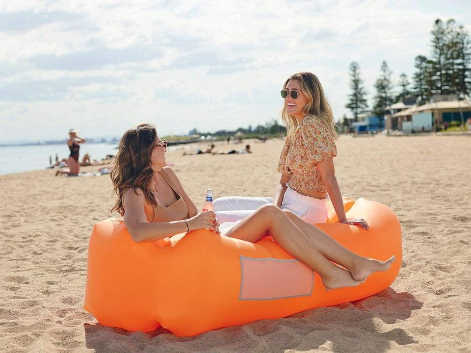<p>They'll love chillin' on this <span>Wekapo Inflatable Lounger Air Sofa Hammock</span> ($39) in the backyard.</p>