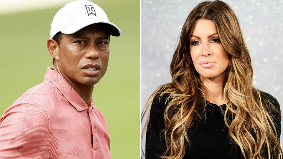 Rachel Uchitel and Tiger Woods, pictured here after their infamous affair.