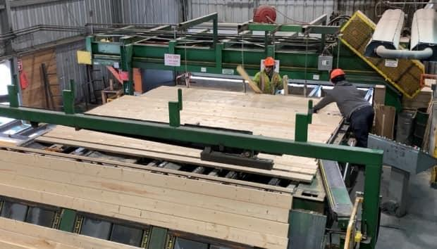 Alberta lumber mills like Spray Lake Sawmills in Cochrane, Alta., have been paying record prices for Crown timber this year because it is making record amounts on products made from it.