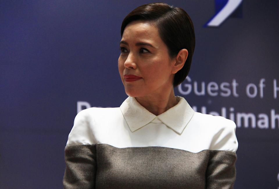 Actress Zoe Tay at press conference for the President's Star Charity Show on 25 September 2018. (PHOTO: Abdul Rahman Azhari/Yahoo Lifestyle Singapore)