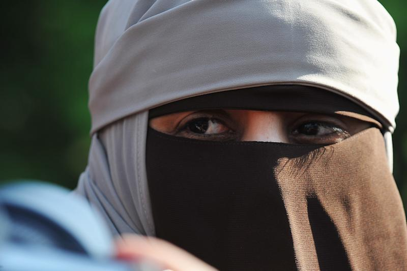 Demonstration To Protest Against The Ban Of Full-Face Veil In Public Places