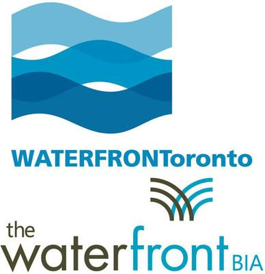 Waterfront Toronto and The Waterfront BIA Logo (CNW Group/Waterfront Toronto and The Waterfront BIA)
