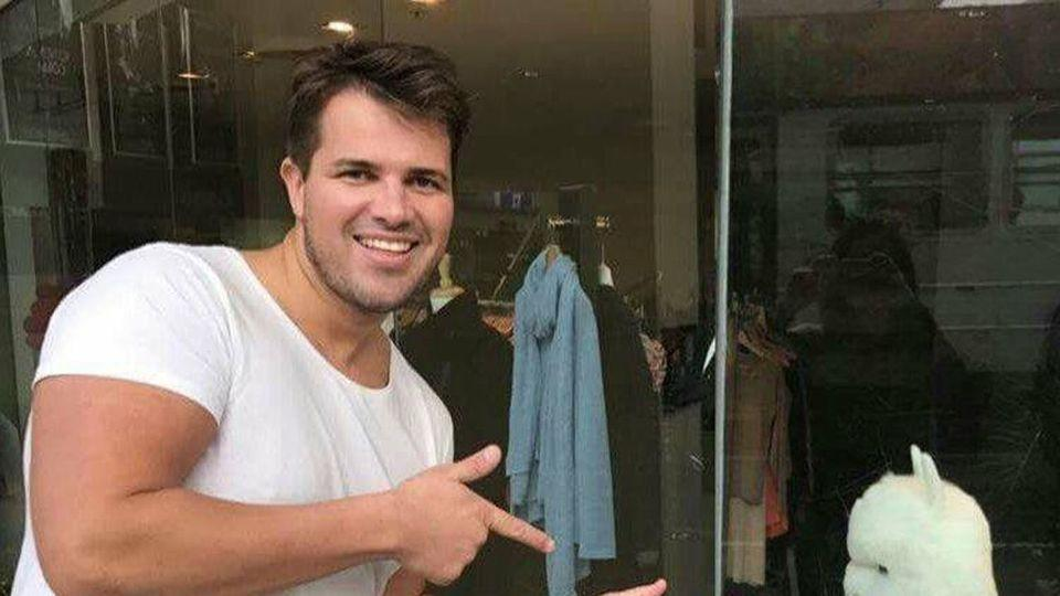 Tostee changed his name to Eric Thomas following his acquittal. Source: Facebook