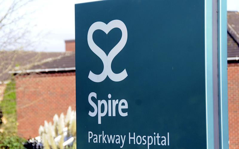 Spire Parkway Hospital in Solihull, West Midlands where Habib Rahman is alleged to have performed unnecessary or inappropriate shoulder surgeries. - PA